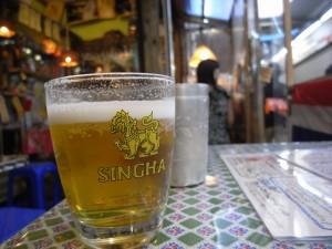 ランチビール250円