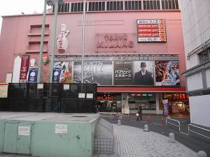 コマ劇前広場で現時点唯一営業の新宿ミラノ