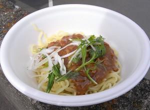 三崎まぐろ拉麺 まぐろジャージャン麺バージョン<br />
