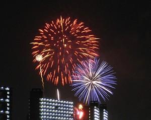 調布花火大会 2010<br />