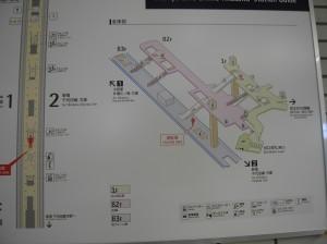 下北沢駅 構内図