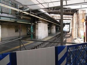 下北沢駅 役目を終えたホーム
