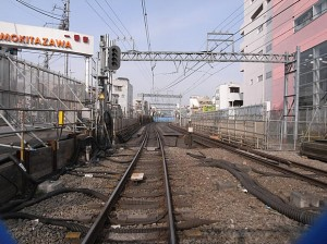 下北沢近くの役目を終えた線路
